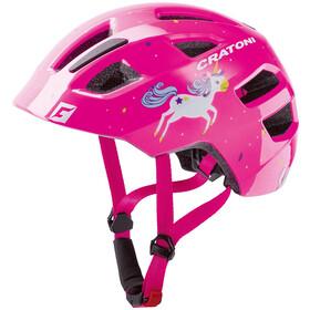 Cratoni Maxster Helmet Kids unicorn/pink gloss